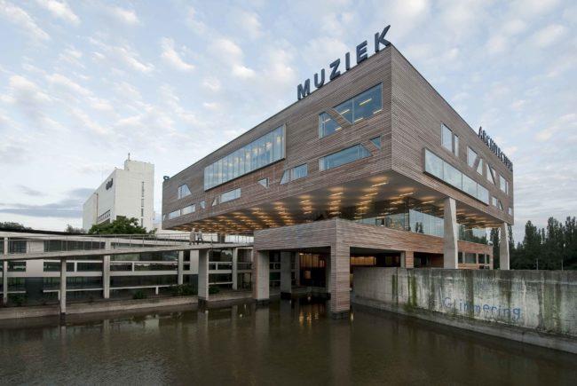 Architectuur en andere kunstdisciplines in deSingel (Foto: Dries Lips)