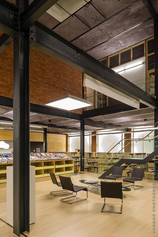 CC Wattenfabriek, DC-architects BVBA i.s.m. At2-architecten (Foto: Vangoo photography)