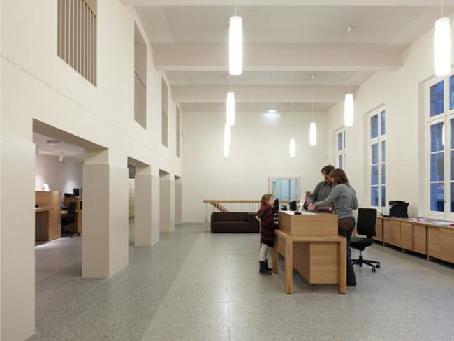 Bibliotheek Blankenberge, Sergison Bates architects (Foto: Kristien Daem)
