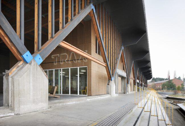 TRAX-park, NERO architecten + BUUR