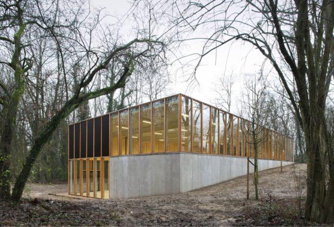 Gymnasium Ukkel - URA (Foto: Filip Dujardin)