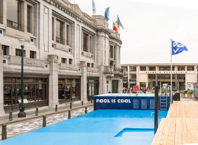 Biggest Pool Brussels Badeau (Foto: Pool is Cool)