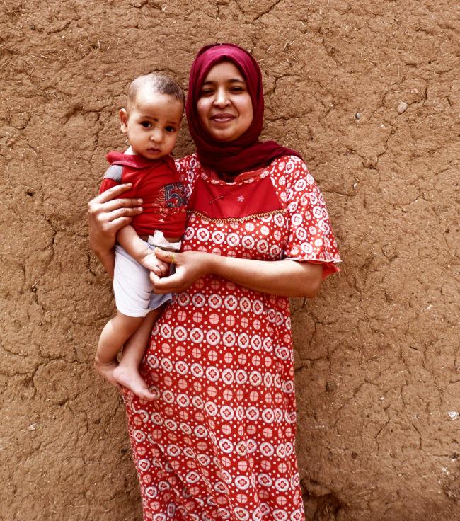 Portret van een moeder, Ouled Merzoug, Foto: BC architects & studies